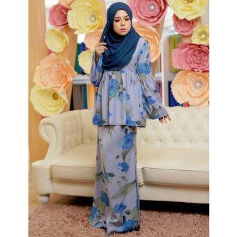 Jelitasara X Lazada Kurung Belle (Blue)