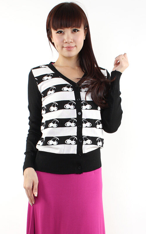 JF Fashion Long Sleeve Knitted Cardigan U372
