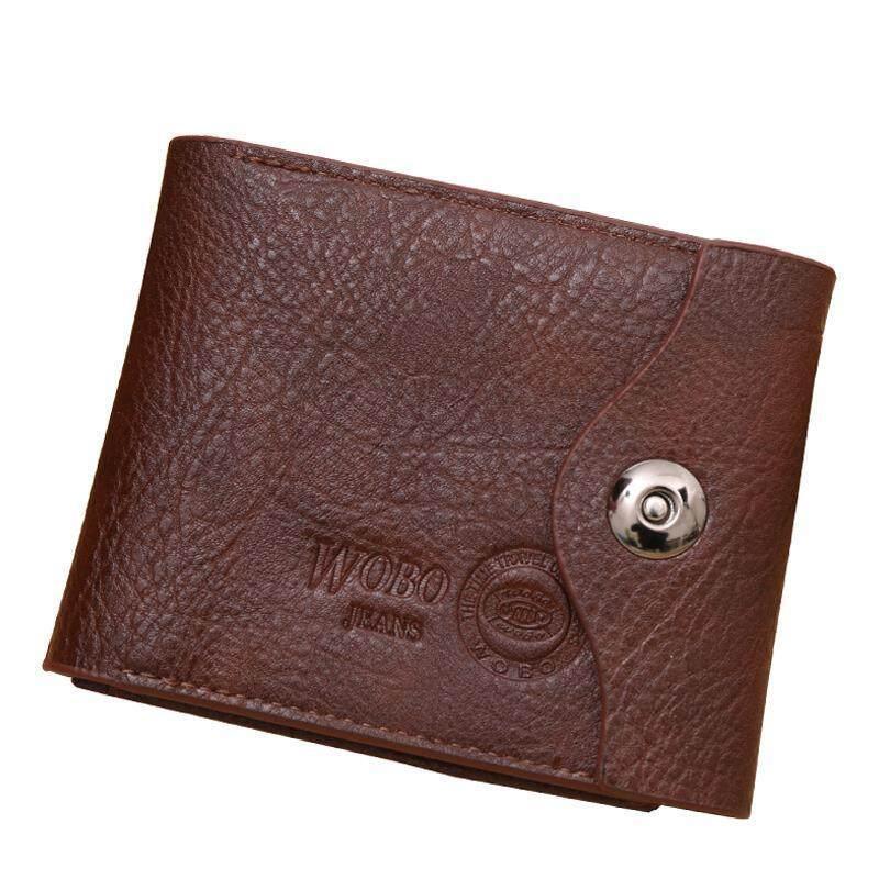 JINBAOLAI Wallet Men's Wallet Retro Multi Functional Wallet Wallet Cool Leather Wallets Branded Mens Wallet Online Shopping - intl