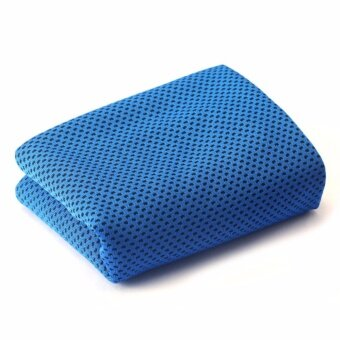 Harga JinGle Ice Cold Enduring Running Work Out Gym Chilly Pad InstantCooling Towel Sports