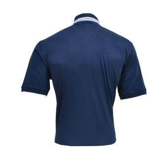 John Master Men Lifestyle Regular Fit Polo Navy 8067000 - 3