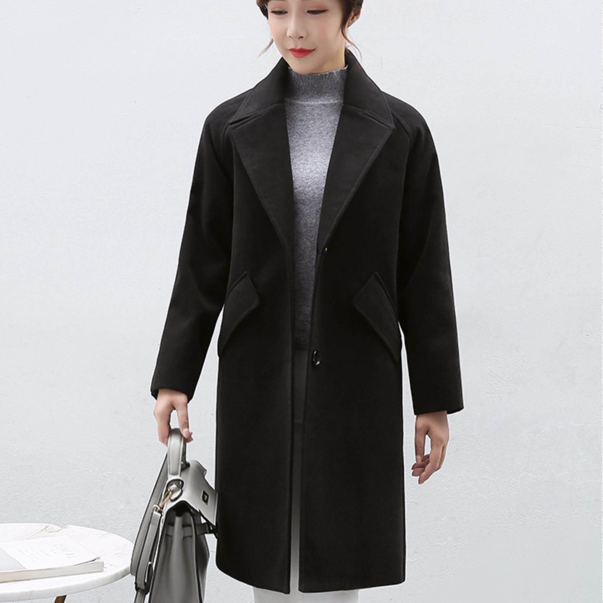 ... Aquinn Labelle Blazer Long Sleeve Squall Hitam Cream Daftar Harga Source JYS Fashion Korean Style