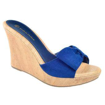 Kasut U EV Women Shoes / Platform / Wedges 612-003006 (Blue)