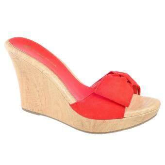 Kasut U EV Women Shoes / Platform / Wedges 612-003010 (Red)