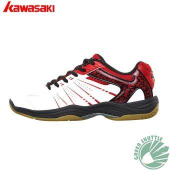 Harga Kawasaki Badminton shoes K-063 White Badminton Sneaker