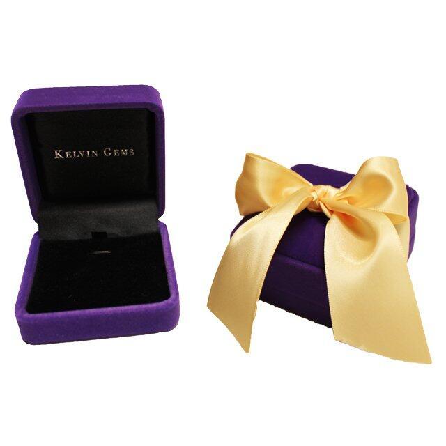 Kelvin Gems Premium Lightning Pendant Necklace m/w SWAROVSKI Zirconia