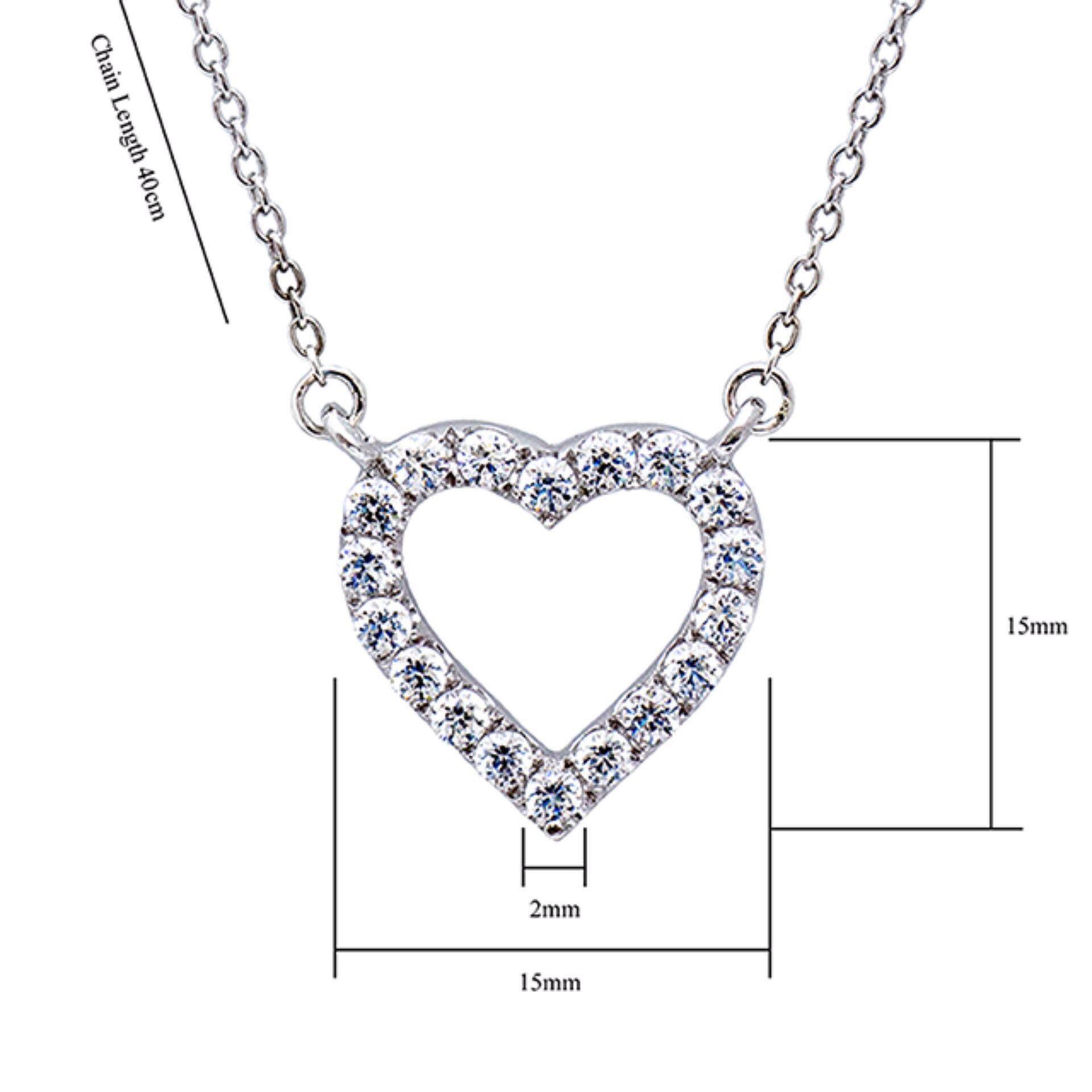 Kelvin Gems Premium My Heart Gift Set m/w SWAROVSKI Zirconia