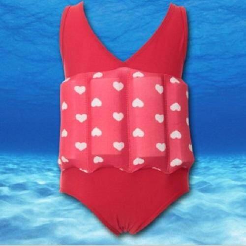 Kids SwimFloat Suit Red / L
