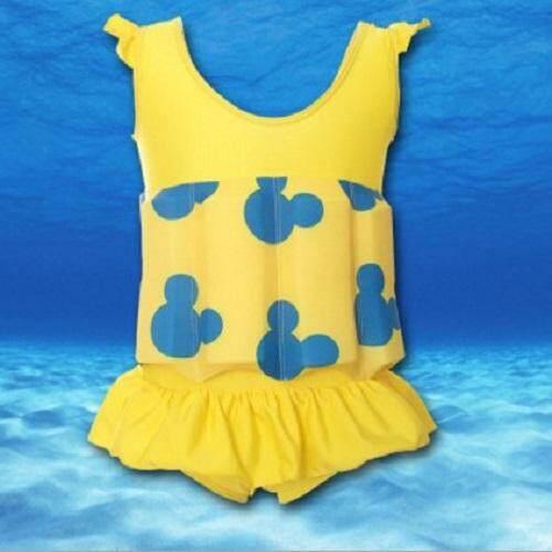 Kids SwimFloat Suit Yellow / M