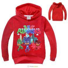 ทบทวน Kisnow 2 12 Years Old Boys 95 145Cm Body Height Cotton Cartoon Hoodies Color Red Kisnow