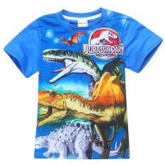 ซื้อ Kisnow 3 12 ปีชาย 105 145 เซนติเมตรความสูงของผ้าฝ้ายเสื้อ สี เป็นรูปหลัก นานาชาติ ใหม่ล่าสุด