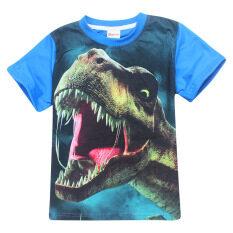 ราคา Kisnow 3 12 Years Old Boys 105 145Cm Body Height Cotton T Shirts Color As Main Pic เป็นต้นฉบับ