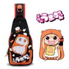 ขาย Kisnow Japan High Quality Retro Canvas Anime Single Shoulder Chest Crossbody Bags Color As Main Pic Kisnow เป็นต้นฉบับ