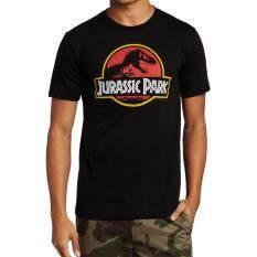 ขาย Kisnow Men Jurassic Park Cotton T Shirts Color Black Kisnow เป็นต้นฉบับ