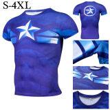 ซื้อ Kisnow Men S Fashion Cool Sports Outdoor T Shirt Color First Pic ออนไลน์ ถูก