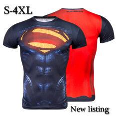 ซื้อ Kisnow Men S Fashion Cool Sports Outdoor T Shirt Color First Pic ออนไลน์ จีน