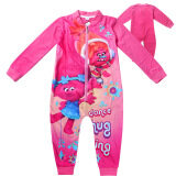 ขาย Kisnow Troll Girls 3 12 Years Old 95 145Cm Body Height Soft Cotton Pajamas Sleepwear Color Rose Green Kisnow ใน จีน