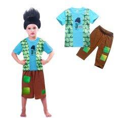 ขาย Kisnow Troll S Boy 105 145Cm Body Height 2 Pieces Cotton Pant T Shirts Color Main Pic Kisnow ออนไลน์
