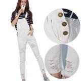 ขาย ซื้อ เกาหลีแฟชั่นโดยรวมบริสุทธิ์ฝ้ายกางเกงหลวมกางเกงยีนส์ สี รูปแรก นานาชาติ จีน