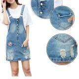ขาย Korean Fashion Pure Cotton Demin Midi Jeans Skirt Color First Pic จีน
