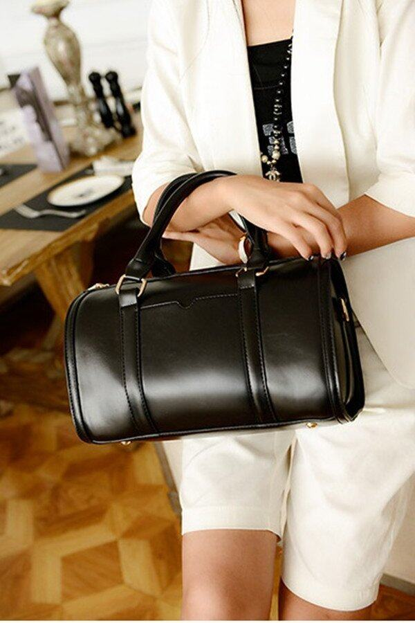 Korean Style 2 Way Bag (Black)