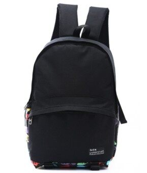 Korean-style Female Male big high school students casual school bag backpack (Face)