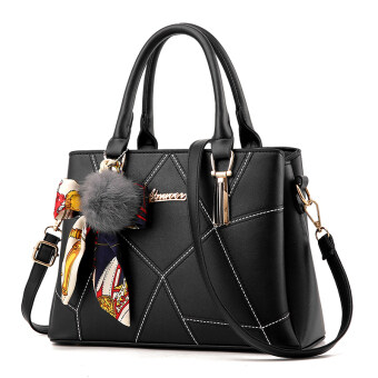 "Korean-style shoulder cross-body killer bag (""Black"")"