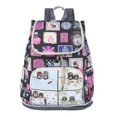 ส่วนลด Korean Youth 38 17 39Cm Canvas Travel Sch**l Bag Backpack Color Main Pic
