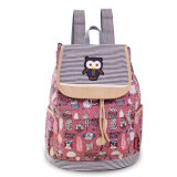 ขาย Korean Youth 38 17 39Cm Canvas Travel Sch**l Bag Backpack Color Main Pic ถูก ใน จีน