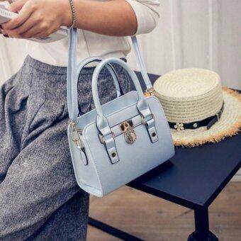 Harga Kstyle 928 Elegant Korean Casual Design CrossBody Sling Bag (Blue)