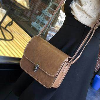 Harga Kstyle 935 Korean Favorite Casual Design CrossBody Sling Bag(Brown)