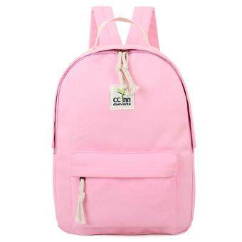 Harga Kstyle 956 Korean Selection Fashion Premium Travel Outing Backpack(Pink)