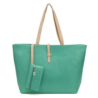 Harga Kstyle Fashion Tote Handbag and Purse (Green)