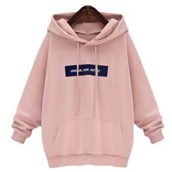 Kuhong Autumn Women Long sleeve Hoodie Sweatshirt Jumper Sweater Pullover Tops