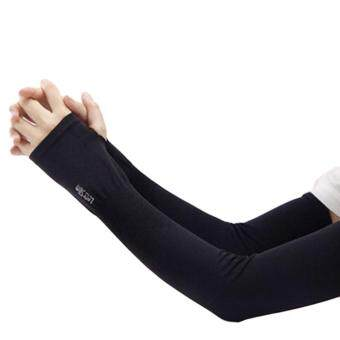 Section Drove Uv Sunscreen Half Finger Cuff Sunscreen Arm Sleeves Hand Protection Women&men Fingerless Long Gloves Apparel Accessories Men's Arm Warmers