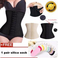 97ab6c9f0826d labelle-Hot New Women Latex Waist Trainer Corset Body Shaperummy Control Girdle  Shapewear ( Black