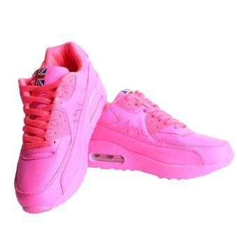 LALANG Women Casual Sports Shoes Sneakers Breathable OutdoorWalking Running Shoes Pink
