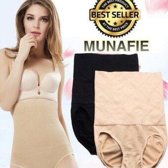9b453d6159592 BLACK - NEW Japan MUNAFIE 120g High Waist Tummy Control Body Shaper  Slimming Panty   Panties