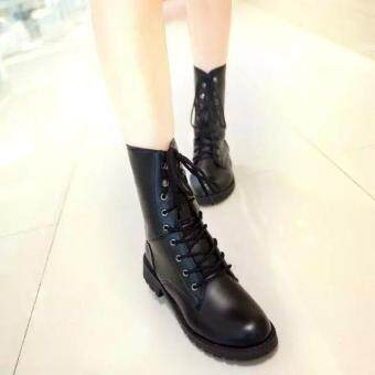 LCFU764 New Fashion England Style Dr. Martin Boots Couple's MartinShoes Women Marten Dr Designer Motorcycle Boots - 3
