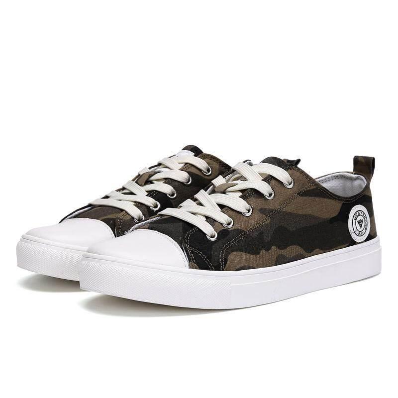 Santai Pria Sepatu Kanvas Sepatu Kamuflase Sepatu untuk Pria Berjalan Sepatu  Pecinta Kasual Sepatu Vulkanisir Sepatu 85dff48506