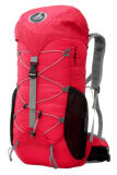 Local Lion Water Resistant Traveling Backpack 35L Red