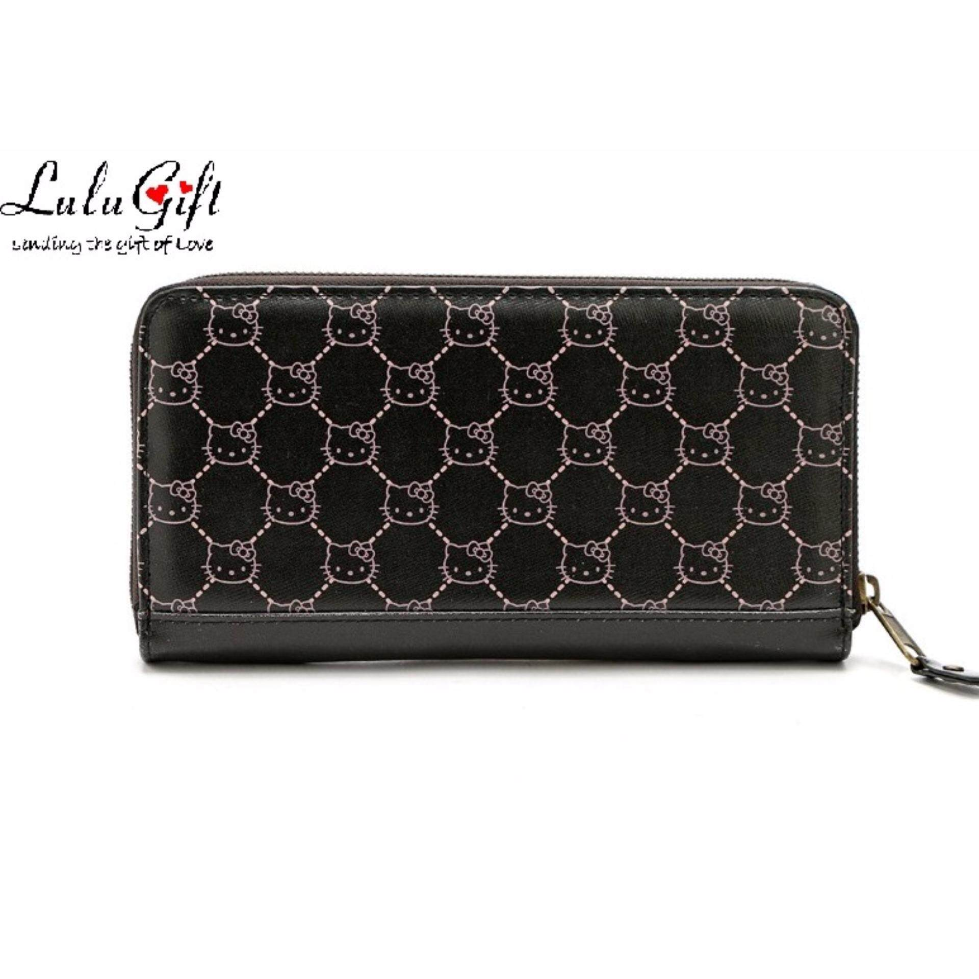 Lulugift Cute Kitty New Fashion PU Leather Wallet