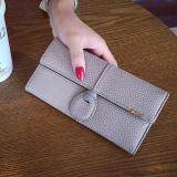 WLT-037 Magic Moment 191 Woman Long Multipurpose Wallet Purse [GRAY]