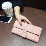 WLT-037 Magic Moment 191 Woman Long Multipurpose Wallet Purse [PINK]