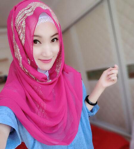 Malaysia Kerchief Di Melakukan Obeisance Muslim Wanita Arab Mosslem Orang Sarung Kepala Turban Masjid Hijab- internasional