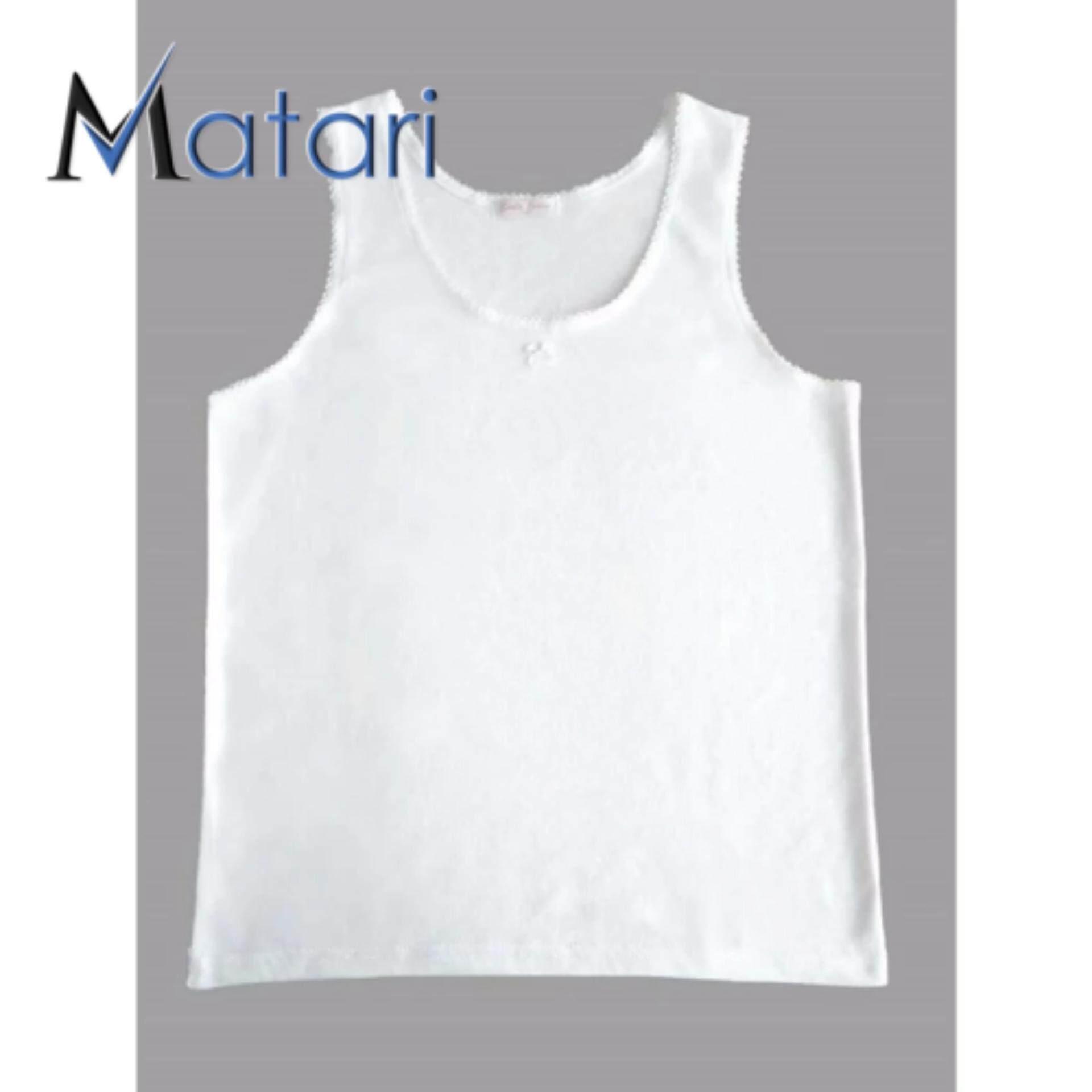 MATARI INNER SHIRT SINGLET LADIES JUNIOR (WHITE)