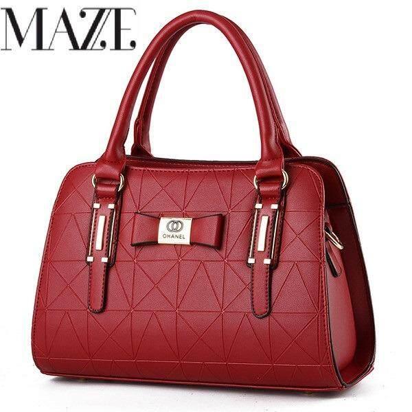 Lux Ohanel Formal PU Leather Handbag Women Beg