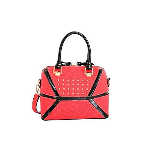 Mellow World Fashion Daffi Collapsible Mini Satchel, Red, One Size - intl