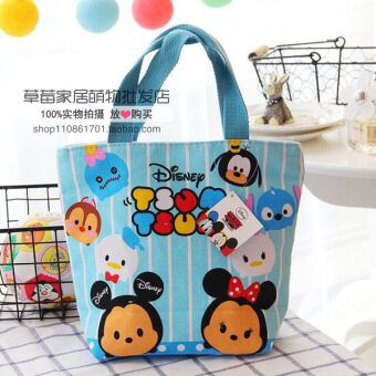 Harga Melody lazy egg cute lunch box lunch bag canvas bag