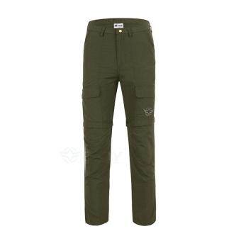 Men Outdoor Sports Quick Dry Tactical Military Cargo Pants ArmyMulti-pocket Detachable Trousers Camping Hiking Trekking Shorts -color2